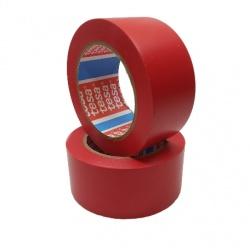 Taśma ostrzegawcza 50 MM 33 MB czerwona Tesa 60760