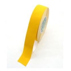 Taśma antypoślizgowa żółta 25 MM 18 MB