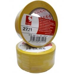 Taśma ostrzegawcza SCAPA 2721 100 MM 33 MB żółta