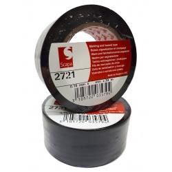 Taśma ostrzegawcza SCAPA 2721 100 MM 33 MB czarna