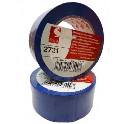 Taśma ostrzegawcza SCAPA 2721 100 MM 33 MB niebieska