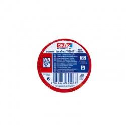 Tesa 53988 Taśma izolacyjna czerwona 19 MM 20 MB