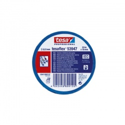 Tesa 53988 Taśma izolacyjna niebieska 19 MM 20 MB